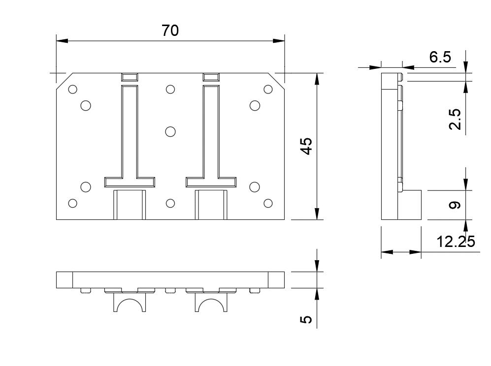Mechanische Zeichnung